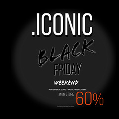 2018BlackFriday (Neveah Niu /The ICONIC Owner) Tags: blackfriday iconic secondlife hair 3dmesh 3dart thanks giving tuirkey day neveahniu