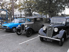 Classic Austins at LVVS - Nov. 2018 (Andy Reeve-Smith) Tags: austin austinofengland seven 7 ago903 allegro tfe475w austinrover vl9860 lincolnshire lincoln lincolnshirevintagevehiclesociety lincolnshireroadtransportmuseum transportfestival transportfestival2018 lvvs bmc blmc bl britishmotorcorporation nuffield