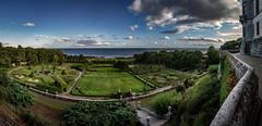 Dunrobin gardens 1 6p (Bilderschreiber) Tags: gardens dunrobin castle scotland schottland garten gärten burg schloss panorama weitwinkel wide angle