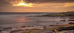 Kona Sunset (Fog City Undercover) Tags: hawaii kona beach sunset ocean water waves