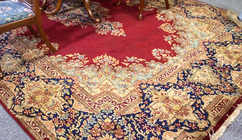 Room size oriental rug ($1,232.00)