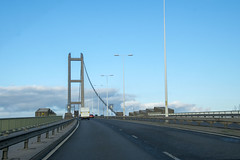 DSC_3003 North Lincolnshire England The Humber Suspension Bridge over the Humber River (photographer695) Tags: north lincolnshire england the humber suspension bridge over river