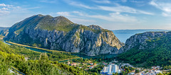 Omis Town Panoramic Landscape View (_Sylvian) Tags: dalmatia omis buildings canon canon60d city cityscape clouds croatia landscape mountains nature outdoor river sea sightseeing sigma sigma1835 sky town travel traveling travels trees view water woods