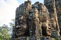 Bayon – 7 (Roy Prasad) Tags: green cambodia asia khmer travel architecture temple angkorwat prasad royprasad hindu buddhist ruins ancient phaseone xf schenider sony a7r a7rm3 bayon sculpture art