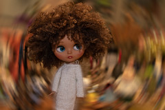 Round and Round HSS (Dotsy McCurly) Tags: adobe photoshop effect fun hss happysliderssunday blythe doll curly hair cute expression fuzzy dress tabletop photography toyphotography canoneos80d efs35mmf28macroisstm
