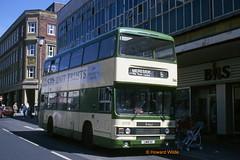 Blackpool 366 (UWW 11X) (SelmerOrSelnec) Tags: blackpool leyland olympian roe uww11x westyorkshirepte metro bus