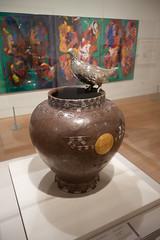 1900 Ptarmigan vase (quinet) Tags: 2017 2018 aboriginal aborigène audain audainmuseum britishcolumbia canada firstnations indian kunst northwest ureinwohner whistler art museum musée native