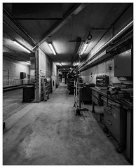 Workbench (apodemetes) Tags: thun kantonbern schweiz ch industrial blackandwhite monochrome sigma14mmf18dghsmart