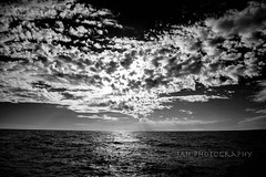 Slaying Giants (jah32) Tags: poetry poem clouds sky skies blackandwhite blackwhite bw monochromatic monochrome water lakeerie greatlakes thegreatlakes sunset sunsets horizon portstanley ontario canada port poc reflections reflection giants cmwdbw
