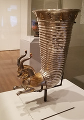 20181229_135529 (jaglazier) Tags: 2018 4thcenturybc animalshapedvesselsinart animalshapedvesselsfromtheancientworld december feastingwithgodsheroesandkings foggmuseum griffins harvardartmuseum iran lotusflowers metalsculpture museums persian silver specialexhibits animals archaeology art copyright2018jamesaglazier crafts gilded gold lotus metalworking mythical palmettes protomes sculpture silversmiths cambridge massachusetts usa