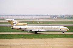 Libyan Arab Airlines Boeing 727-2L5 5A-DIH (Retro Jets) Tags: libyan laa b727 b722 lhr