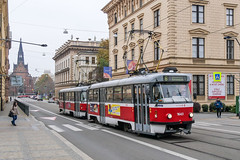 BRN_1643_201811 (Tram Photos) Tags: ckd tatra t3g brno brünn strasenbahn tram tramway tramvaj tramwaj mhd šalina dopravnípodnikměstabrna dpmb t3