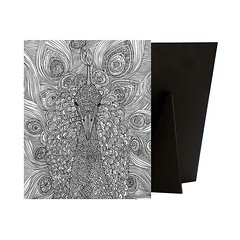 Peacock-Relieve Stress While Creating art for your Walls With a Coloring Canvas. Each Piece is Printed On high quality canvas and then mounted to a Sturdy Solid frame to ensure a Comfortable Surface for Coloring.  Check out our website: https://spaceplug. (spaceplug) Tags: love blackwhite art canvas shop spaceplug like buy sell like4like photo createart followus canvasart peacock animal canvasdemand coloring comment photography follow4follow
