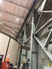 20181101_174618718_iOS (sano_rio) Tags: interior west wall moment frames bracing ceilings lights turbines