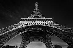 Eiffel Tower II (Jack Landau) Tags: eiffel tower paris tour gustave steel landmark construction engineering france europe city urban jack landau canon 5d