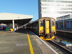 150202 Plymouth (4) (Marky7890) Tags: gwr 150202 class150 sprinter 2p91 plymouth railway devon devonmainline train