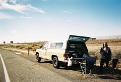 Interstate Diner (Brogan's Camera) Tags: desert road trip truck classic camping wilderness wild natural nature breakfast break coffee chairs