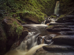 Pistyll Rhaeadr (cliveg004) Tags: pistyllrhaeadr 7wondersofwales waterfall afondisgynfa afonrhaeadr river cliff llanrhaeadrymmochnant berwynmountains wales midwales rocks le longexposure water blur landscape
