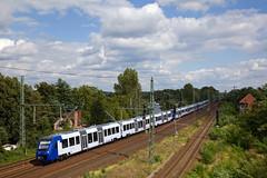 Vlexx 622 + 3 x 620  - Dbz 82275 Beddingen - Neubrandenburg  - Werder (Havel) (Rene_Potsdam) Tags: vlexx brandenburg deutschland europe europa railroad treinen trenes trains züge br622 werderhavel