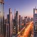 Sheikh Zayed Road [Explored on 10/28/18]
