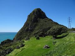 Paritutu (Home Land & Sea) Tags: nz newzealand taranaki newplymouth landmark paritutu rock 156m walkingtrack ifyoudare sonycybershot dschx100v pointshoot homelandsea explored