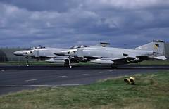 F4  XT863 (TF102A) Tags: kodachrome aviation aircraft airplane raf rafleuchars f4 phantom 111squadron xt863