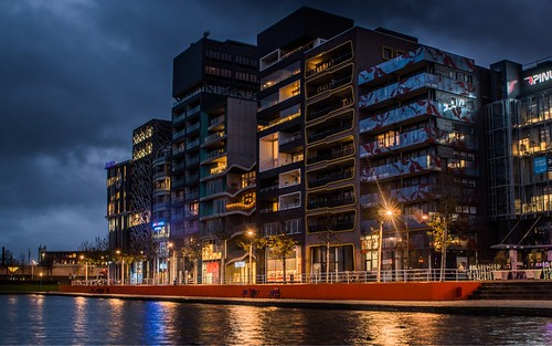 Lelystad at night