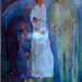 """Heavenly Sent"" by Cassandra C, acrylic, $160.00"