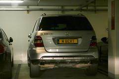 GB (Ipswich) - Mercedes-Benz ML 320 CDI W164 (PrincepsLS) Tags: uk gb british license plate rt ipswich germany düsseldorf spotting mercedesbenz ml 320 cdi w164