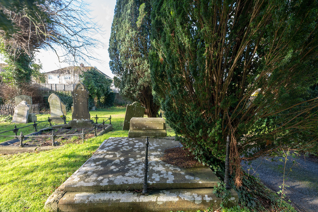 ST COLUMBA'S CHURCH AND GROUNDS IN SWORDS COUNTY DUBLIN [CHURCH ROAD]-148794