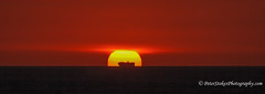 Ship in the sun. Sunset in WA (Peter.Stokes) Tags: australia australian colour landscape nature panorama photo photography vacations westernaustralia beach clouds coast coastline colourphotography landscapes outdoors saltwater skies sky sea sand sunset colorphotography waves
