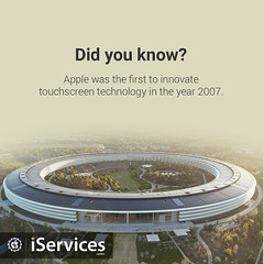 did you know (iservicesprofile) Tags: iservicescentre iservices hyderabad iphonerepair irepair ipad ipod iwatch replacements