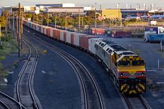 1845 @ Cooks River (Electric Motive) Tags: train trains trainspotting locomotive loco brm002 rl class 1845