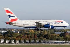 G-XLEG / British Airways / Airbus A380-841 (Charles Cunliffe) Tags: canon7dmkii aviation londonheathrowairport egll lhr britishairways baw ba airbusa380 a380800 gxleg