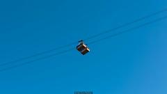 Ropeways (Nicola Pezzoli) Tags: italy italia val gardena dolomiti dolomites mounatin winter alto adige snow neve nature natura bolzano ropeway funivia seceda blue sky funes ortisei