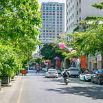 Happy Lunar New Year Sign at Nguyen Hue Walking Street in District 1 of Saigon thumbnail
