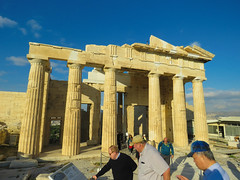 The Acropolis #4 (jimsawthat) Tags: ancient stone ruins acropolis propylaea urban athens greece