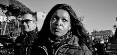 A part of me keeps holding on..... (Baz 120) Tags: candid candidstreet candidportrait city contrast street streetphotography streetphoto streetcandid streetportrait strangers rome roma europe women monochrome monotone mono noiretblanc bw blackandwhite urban life portrait people italy italia grittystreetphotography faces decisivemoment