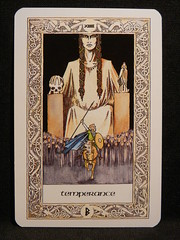 Temperance. (Oxford77) Tags: tarot thenorsetarot norse viking vikings cards card tarotcards