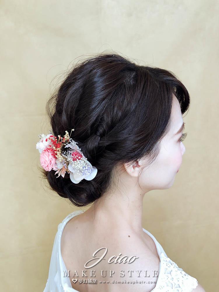 【新秘婕喬】新娘造型創作 / 日系優雅盤髮