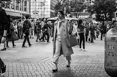 Forecast: Rainy With Minor Street Flooding (burnt dirt) Tags: asian japan tokyo shibuya station streetphotography documentary candid portrait fujifilm xt1 bw blackandwhite laugh smile cute sexy latina young girl woman japanese korean thai dress skirt shorts jeans jacket leather pants boots heels stilettos bra stockings tights yogapants leggings couple lovers friends longhair shorthair ponytail cellphone glasses sunglasses blonde brunette redhead tattoo model train bus busstation metro city town downtown sidewalk pretty beautiful selfie fashion pregnant sweater people person costume cosplay boobs