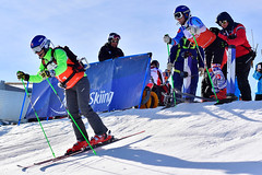 La Molina 2019 World Para Alpine Skiing World Cup - Day 3 (Paralympic) Tags: kubackamarek guidezatovicovamaria b1 svk wpas2019alpineskiingworldcup lamolina spain alpineskiing parasport giantslalom