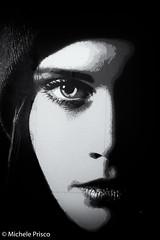 The Eye that sees all (Mikyy81) Tags: eye woman graffiti streetart street art london fujifilm xt2 blackandwhite