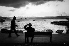 Man (K.BERKİN) Tags: way turkey tourism human oldman people photo alpha street streetphoto streetphotograpy sony6300 dark life light blackwhite istanbul city bosphorus nature mirroless