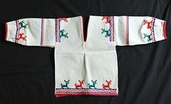 Mexico Textiles Huichol Shirt Clothing (Teyacapan) Tags: camisa shirt mexican textiles wixarika huichol jalisco nino ropa deer