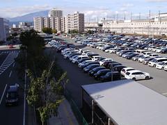 Car parking of Morioka Station (しまむー) Tags: panasonic lumix dmcgx1 gx1 sigma art 19mm f28 dn round trip train
