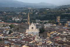 Views from the dome of the Duomo, Florence (timothyhart) Tags: cattedrale santamariadelfiore firenze florence italy europe tourist view spectacular panoramic heritage historic arnolfodicambio filippobrunelleschi cupola