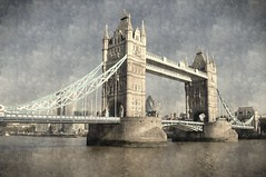 Victorian Crossing (dhcomet) Tags: river thames london crossing tower bridge victorian engineering