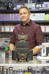 1-A Graflex (vtom61) Tags: 1agraflex kodak eastmankodak vintage sonya7r aisnikkor50mm12 shotonfilmstore filmcamera graflex folmerandschwing seattle camerastore bokeh