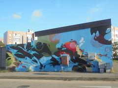 881 (en-ri) Tags: richard corn 79 nero rosso cerchi torino wall muro graffiti writing azzurro verde